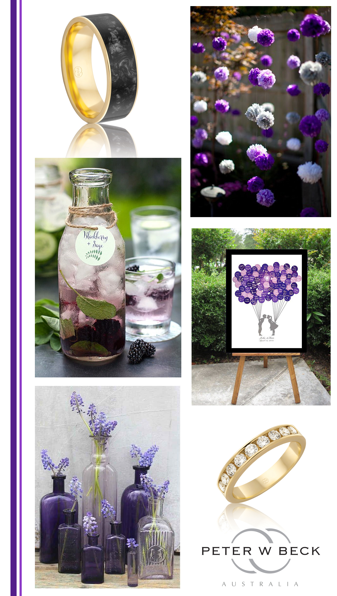 Mood Board 10 -purple