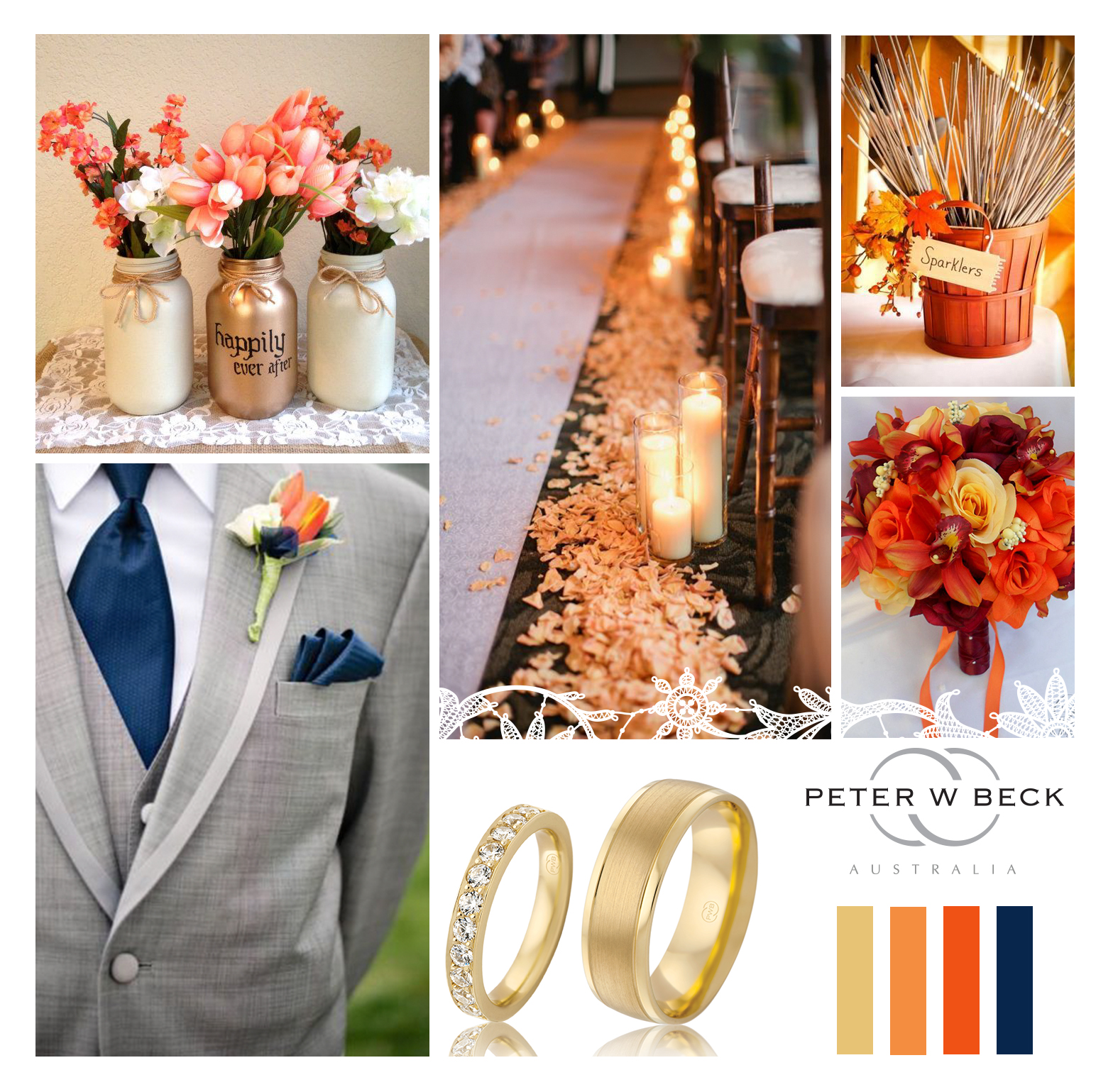 Mood Board 4 -orange